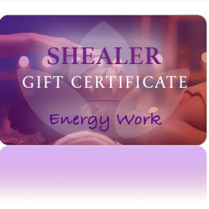 energy work gift card