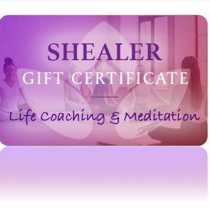 Life Coaching Meditation Gift Card
