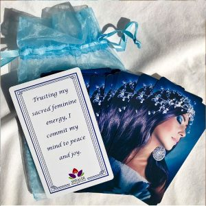 Peace Affirmation Card Deck Fanned